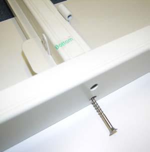 Install DIY Shutters Step 2